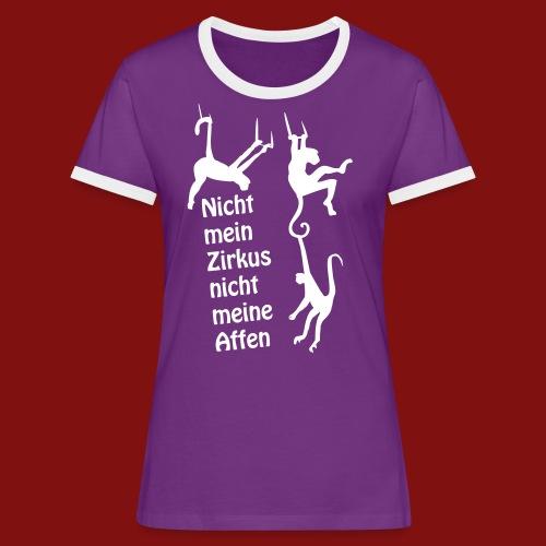 Nicht mein Zirkus - Frauen Kontrast-T-Shirt