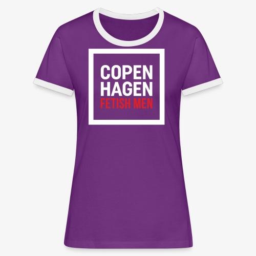 Copenhagen Fetish Men Jacket - Dame kontrast-T-shirt