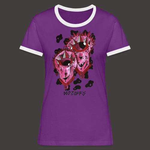 Gemeaux original - T-shirt contrasté Femme