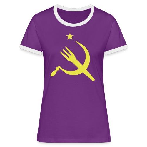 Fourchette en sikkel - USSR - belgië - belgique - T-shirt contrasté Femme
