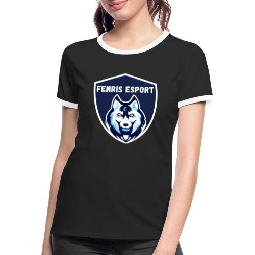 Fenris Esport - Dame kontrast-T-shirt