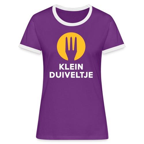 klein duiveltje - trident - T-shirt contrasté Femme