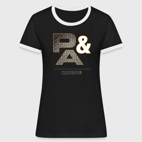 P&A - Camiseta contraste mujer
