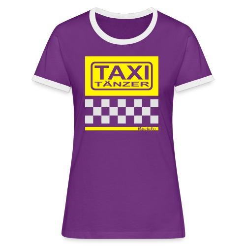 Taxitänzer - Frauen Kontrast-T-Shirt
