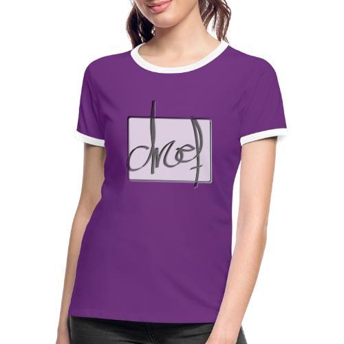 Droef 2020 logo - Vrouwen contrastshirt