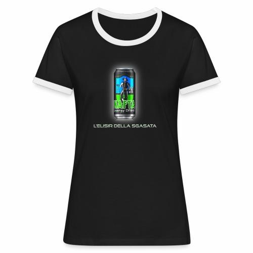 Nafta Energy Drink - Maglietta Contrast da donna