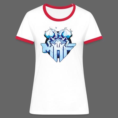 MHF New Logo - Women's Ringer T-Shirt