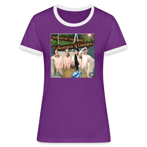 Velkommen Til Garasjen - Kontrast-T-skjorte for kvinner
