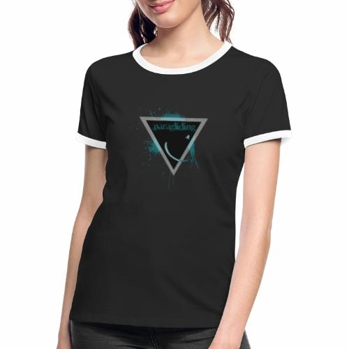 para triangle - T-shirt contrasté Femme