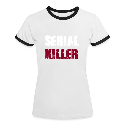 Serial Killer - Frauen Kontrast-T-Shirt