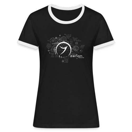 Zenon ARTISTS shirt - Women's Ringer T-Shirt