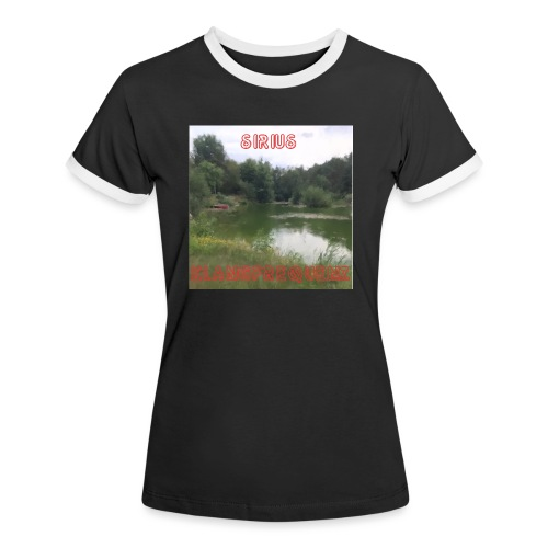 Sirius Klangfrequenz Avalon - Frauen Kontrast-T-Shirt