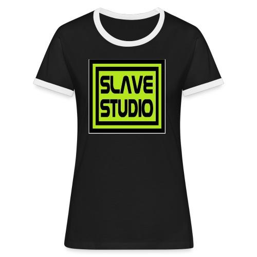 Slave Studio logo - Maglietta Contrast da donna