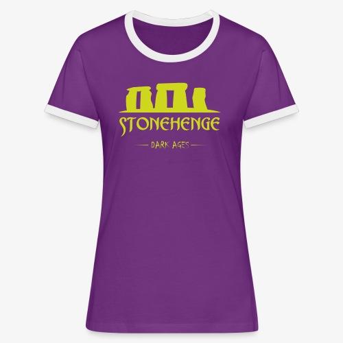 STONEHENGE - Maglietta Contrast da donna