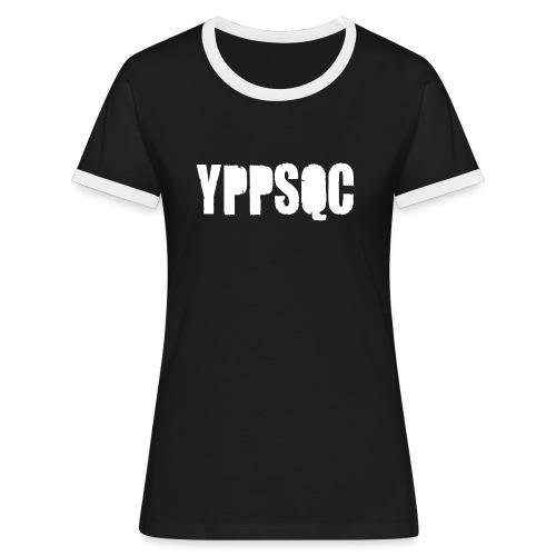 YPPSQC FACEBLC - T-shirt contrasté Femme