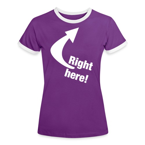 Where is your GOD now? - Frauen Kontrast-T-Shirt