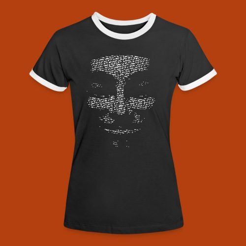 Anonymous - T-shirt contrasté Femme