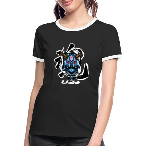 ONIUZI - T-shirt contrasté Femme