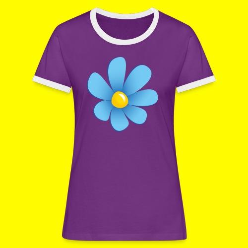 Sverigedemokraterna - Kontrast-T-shirt dam