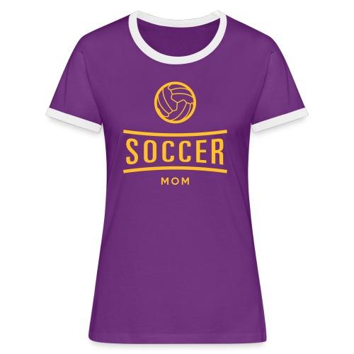 soccer mom - T-shirt contrasté Femme