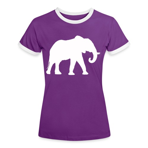 Larry Fitzpatrick X Proboscidea - Frauen Kontrast-T-Shirt