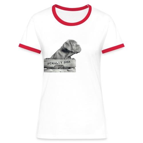 Penalty Box - Dame kontrast-T-shirt