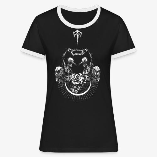 Nocturn design 2 - T-shirt contrasté Femme