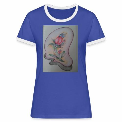 fiore magico - Maglietta Contrast da donna