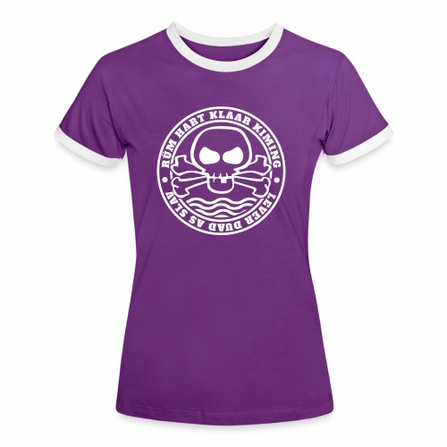 Rüm Hart Klaar Kiming - Lever Duad As Slav - Frauen Kontrast-T-Shirt