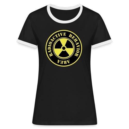 Radioactive Behavior - Camiseta contraste mujer