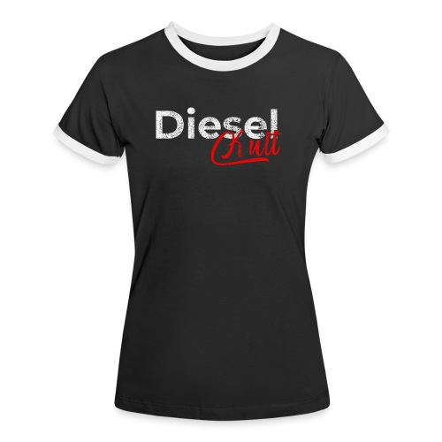 Dieselkult by Dieselholics I Für Diesel Freunde - Frauen Kontrast-T-Shirt