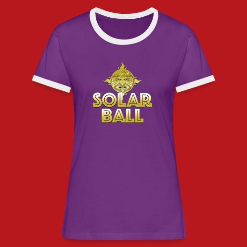 Solar Ball - T-shirt contrasté Femme