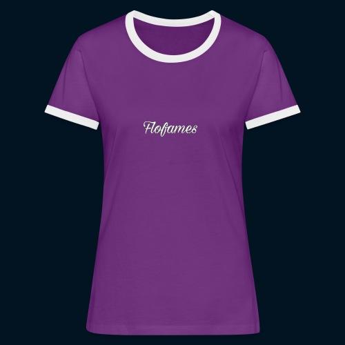 camicia di flofames - Maglietta Contrast da donna