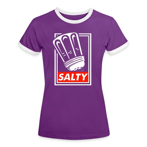 Salty white - Women's Ringer T-Shirt