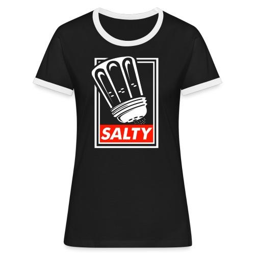 Salty white - Women's Ringer T-Shirt