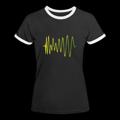Boom 909 Drum Wave - Women's Ringer T-Shirt