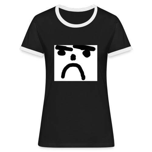 surgubbe1 - Kontrast-T-shirt dam