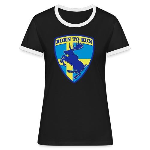 elan_cabre - T-shirt contrasté Femme
