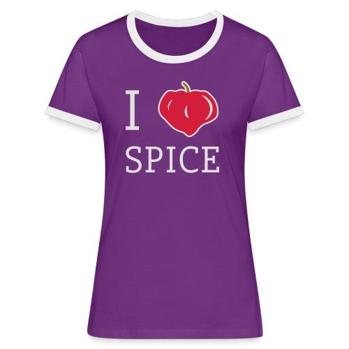i_love_spice-eps - Naisten kontrastipaita