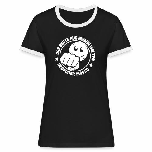 Gebrüder Moped - Frauen Kontrast-T-Shirt