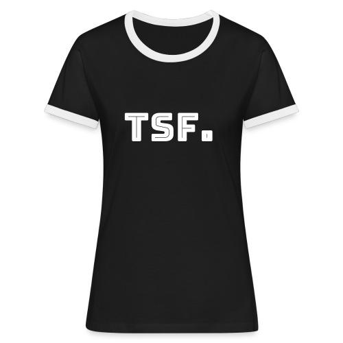 TSF - T-shirt contrasté Femme