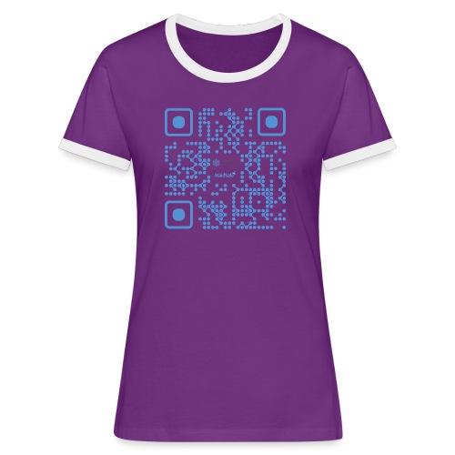 QR Maidsafe.net - Women's Ringer T-Shirt