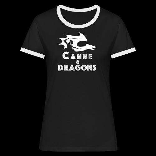 logoC D N B - T-shirt contrasté Femme