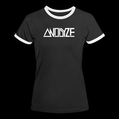 ANODYZE Standard - Frauen Kontrast-T-Shirt