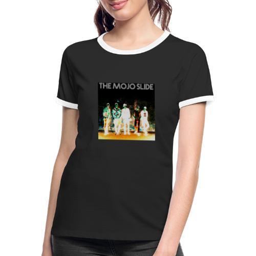The Mojo Slide - Design 2 - Women's Ringer T-Shirt