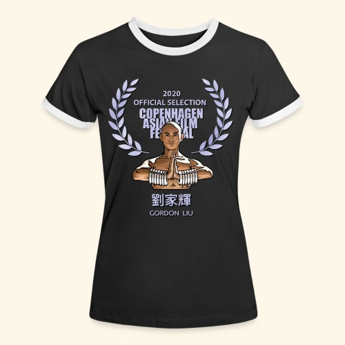 CAFF Official Item - Shaolin Warrior 1 - Dame kontrast-T-shirt
