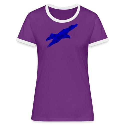 Adler - Frauen Kontrast-T-Shirt
