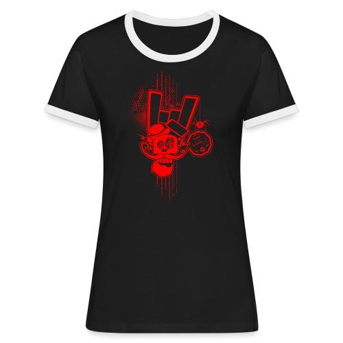 SLG HELLFEST #1 - T-shirt contrasté Femme