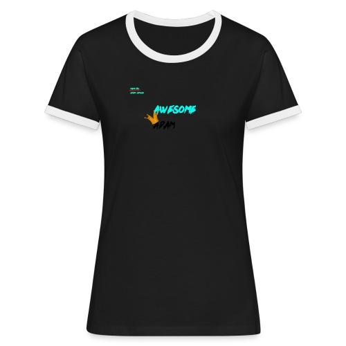 king awesome - Women's Ringer T-Shirt