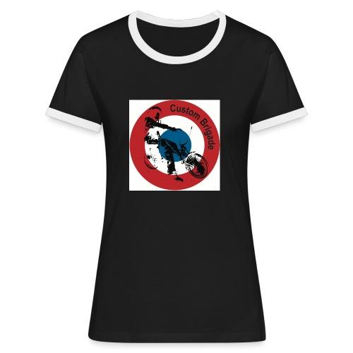 Cocarde Low - T-shirt contrasté Femme